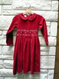 LauraAshley Girl smocking Dress 6ys/used