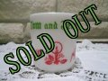 Hazel Atlas, Milk Glass EggNog Mug, Tom&Jerry #2