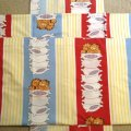 Vintage Garfield Sheets Set
