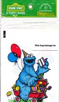Party Bag, 1980 Sesame Street, 8 bags