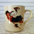 Norman Rockwell,  1984' The Four Seasons Mug Collection, 1956' Boy and His Dog  #1