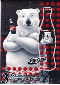 Coca-Cola, Polar Bear, Book Cover( 3 new paper covers)