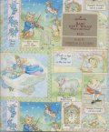 Vintage Hallmark Wrapping Paper For Baby mothergoose, 2 Sheets