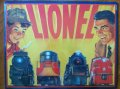 Brand New Tin Sign by Hallmark, Lionel Trains Father and Son