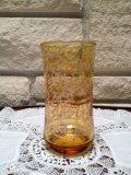 70' Vintage Amber Glass