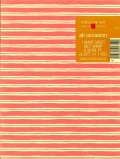 Vintage Wrapping Paper, Pink Stripes, 1 Giant Sheet