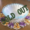 Fenton, Aqua Crest (Pale Blue), Small Dessert Bowl