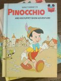 Book, Disney, PINOCCHIO