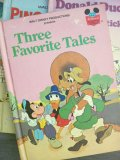 Book, Disney, Three Favorite Tales