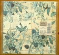 Vintage Hallmark Wrapping Paper, Oriental Flowers , 2 sheets