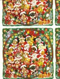 Christmas Wrapping Paper, Dogs & Cats