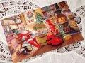 Vintage Christmas Card Mr.&Mrs.Santa / used