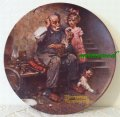 Norman Rockwell, Plate, 1978 The Cobbler
