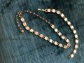 Marhill Mother of Pearl Vintage Necklace & Bracelet Set