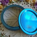 NEW&SALE! Ball Mason Jar, Blue Lid for Regular Mouth