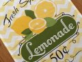 NEW Lemonade Sale Dish Towel