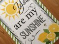 NEW Lemon Sunshine Dish Towel