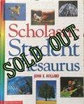 Book, Scholastic Student's Thesaurus, 2002 Hardcover