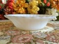 Anchor Hocking, Milk Glass, Golden Shell, Cerial Bowl AS IS