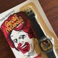 NEW Vintage 1984 McDonald's Watch Black Hong Kong