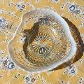 Anchoro Hocking,Moonstone Handled Heart Shaped Bon Bon Bowl (Candy Dish)