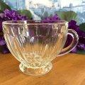 ビンテージ・ディプレッショングラス カップ