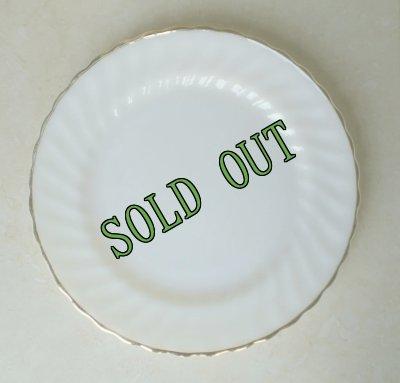 画像1: sold ファイヤーキング ゴールデン・シェル ディナープレート 10インチ(25.5cm)