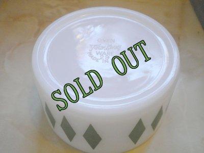 画像2: sold ファイヤーキング ダイヤ柄(緑) ボウル