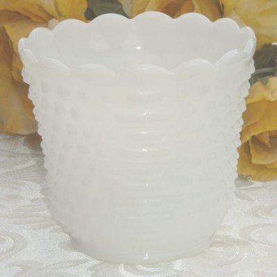画像1: ファイヤーキング ミルクグラス ホブネイル プラントカバー S