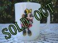 sold アンカーホッキング ペプシ・コレクター・シリーズ ミルクグラス・マグ ディズニー ミニー・マウス