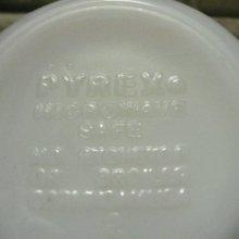 他の写真1: パイレックス ミルクグラス バタフライゴールド ぽってりカップ