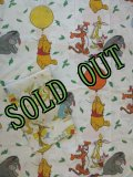 Twin Flat Sheet +Crib Fitting Sheet,  Winny the Pooh