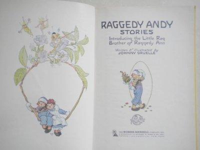画像2: 洋書 ラガディ・アンディ物語 1960年 ハードカバー