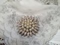Marvella faux Pearl Flower Pin