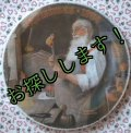 sold Norman Rockwell, Christmas Plate, 1984 Santa in his Waokshop