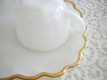 他の写真1: アンカーホッキング ミルクグラス&24金リム クラシック スナックセット