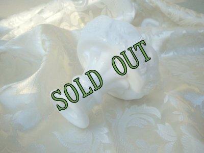 画像2: sold ウェストモーランド社 ミルク・グラス パネルドグレープ キャンドルホルダー