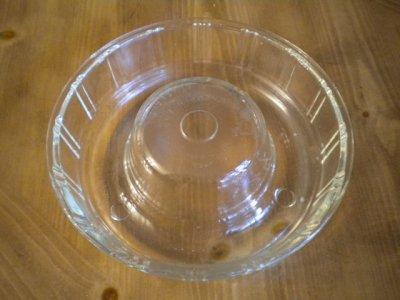 画像1: マッキー・グラス社(ジャネットグラス社/グラスベイク)クイーン・アン ビンテージガラス リングモールド(ゼリー/ケーキ型)