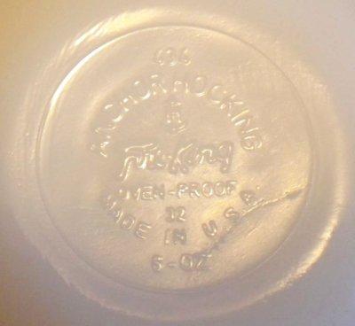 画像2: ファイヤーキング ミルクグラス カスタードカップ