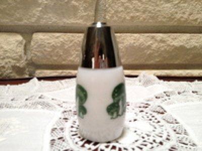 画像2: ミルクグラス マシュルーム柄 シェイカー
