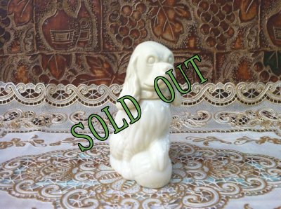 画像3: sold Avon, Moonwind Cologne, Milk Glass, Cocker Spaniel Dog Bottle