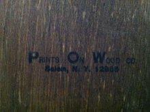 他の写真1: ノーマン・ロックウェル 木製アート バケツの少年