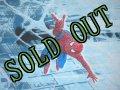 sold ビンテージ スパイダーマン ツインサイズ フラットシーツ