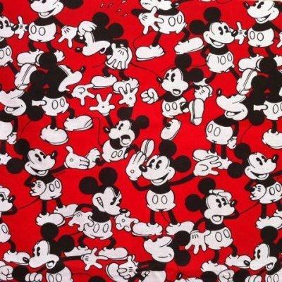 画像1: ディズニー ミッキーがいっぱい  手作りカーテン