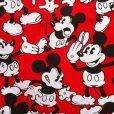 画像2: ディズニー ミッキーがいっぱい  手作りカーテン (2)