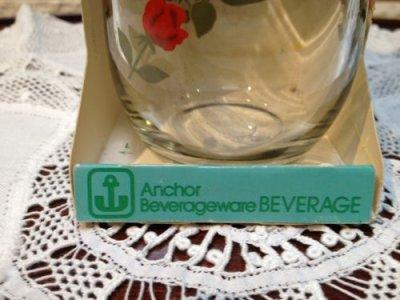 画像3: Anchor Hocking, Vintage Red Roses Glass, Brand New