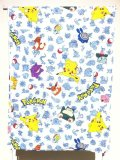 Pocket Monster, Twin Flat Sheet, made in USA