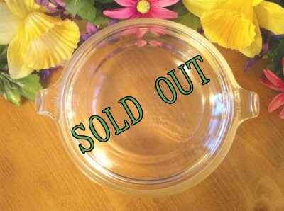 画像3: sold パイレックス クリアーミニキャセロールディッシュ フタ付 型番019 20オンス(600ml) その2