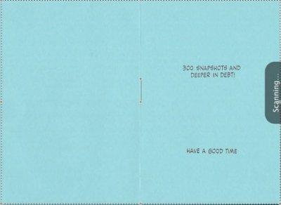 画像2: Vintage Lucy card 1952