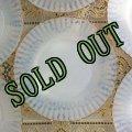 sold マクベスエバンス ペタルウェア ブレッド&バター・プレート No.2 ゴールドエッジ 裏面に波紋状ラインなし
